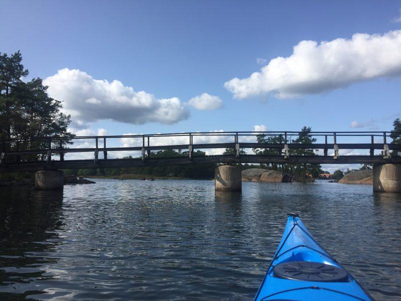 Things to do in Smaland Sweden Kayaking Korpaholmarna Västervik Archipelago