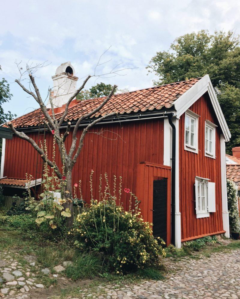 Old town Kalmar city Småland Sweden