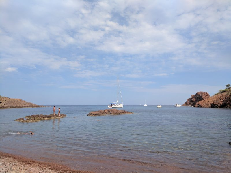 Places to visit in South of France top French Riviera beaches Plage de Maubois