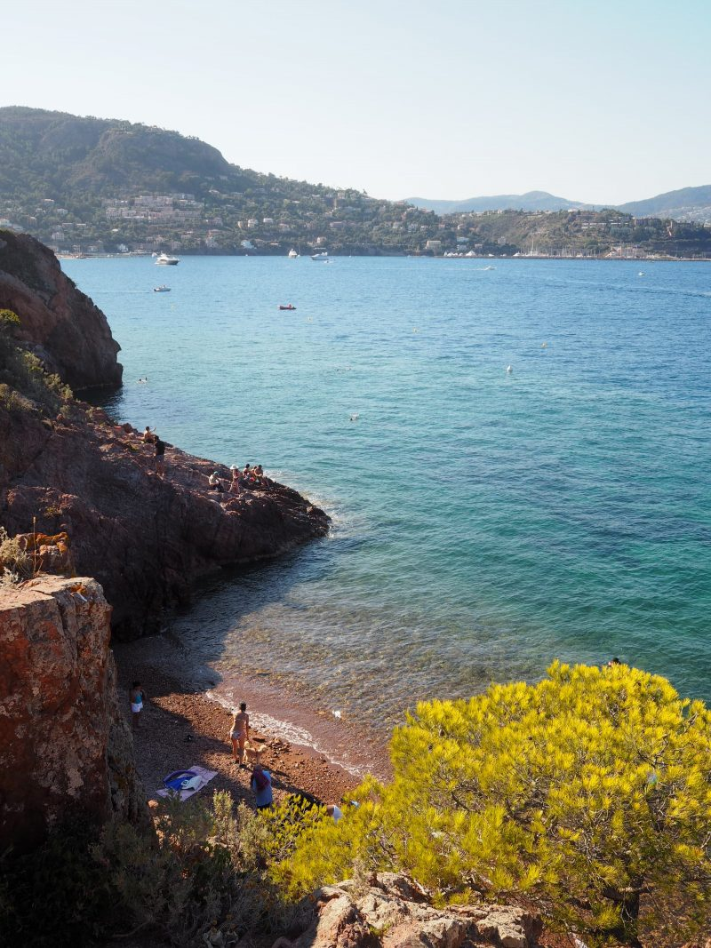 Places to visit in South of France top French Riviera beaches Plage de la Gardanne