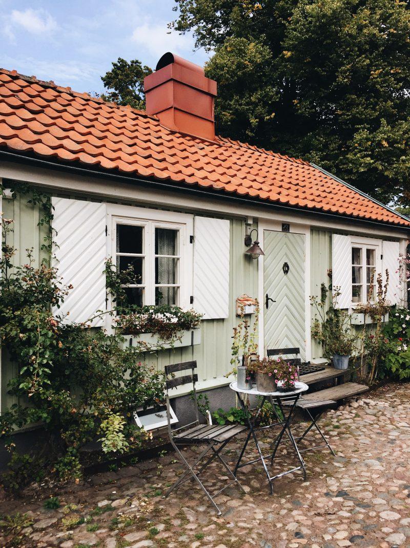 old town Kalmar city Sweden