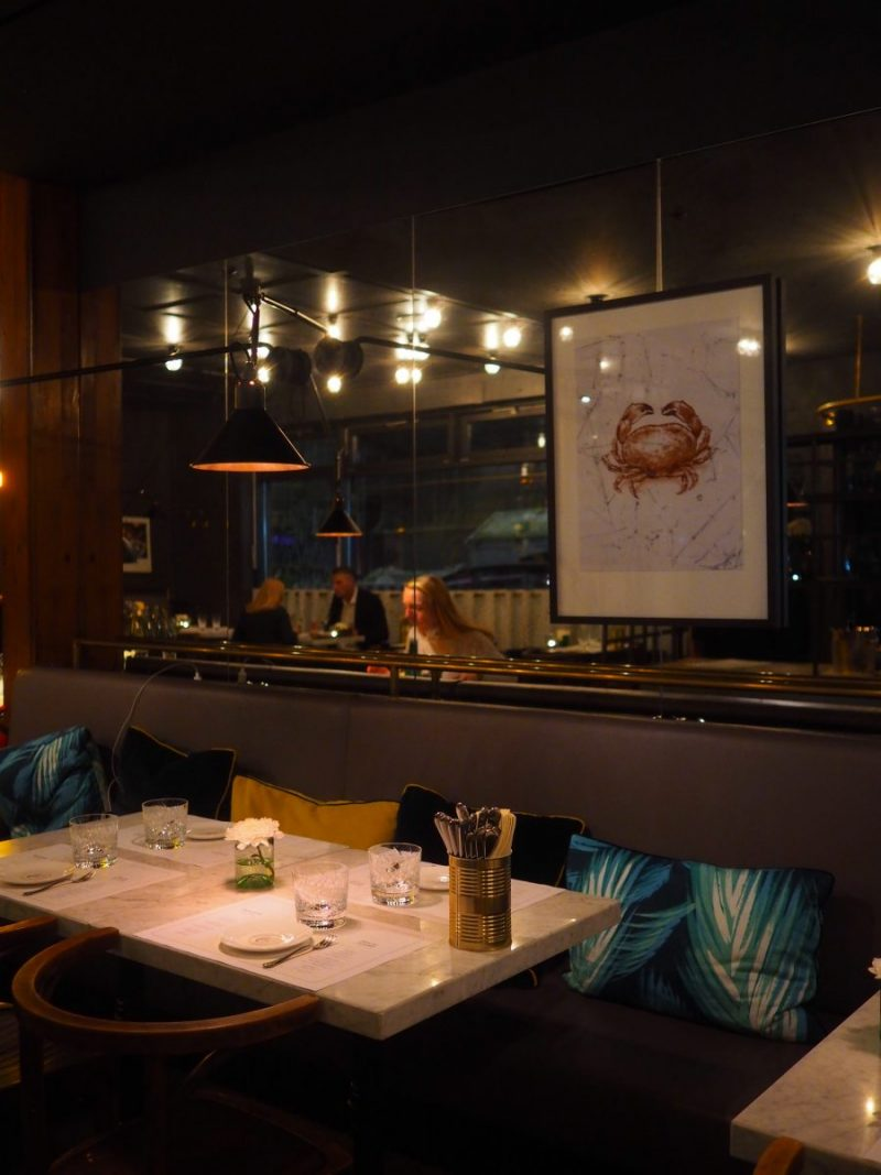 Berlin - French Dinner at Colette, a brasserie by Tim Raue 1
