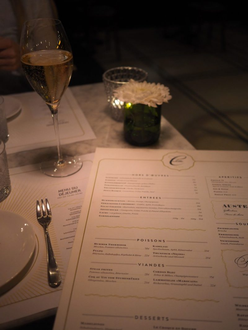 Berlin - French Dinner at Colette, a brasserie by Tim Raue 2
