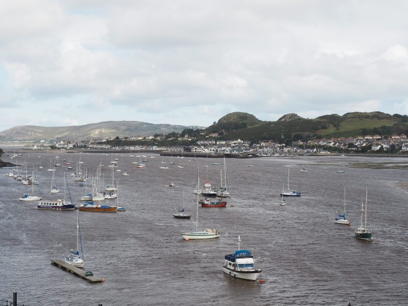 Conwy town North Wales