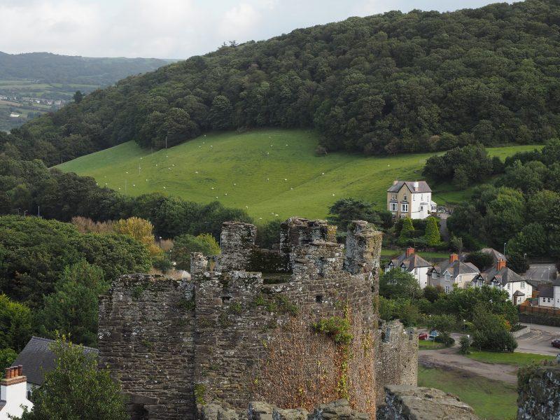 Conwy walls North Wales