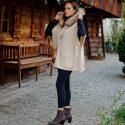 Outfit – Luisa Cerano cape, Saida Vagabond shoes and Lili Radu Coachella bag
