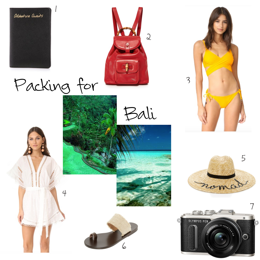 Packing for … Bali