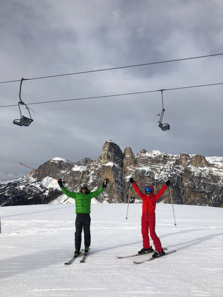 ski safari in Alta Badia