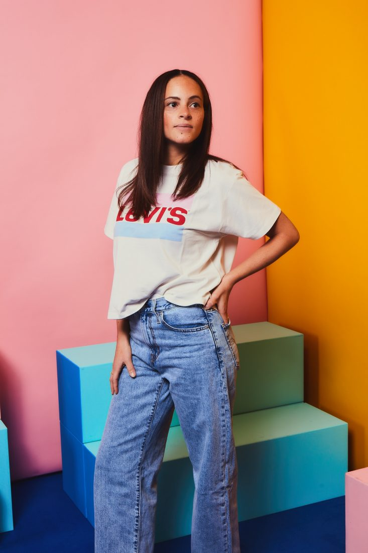 levi's 90's big baggy jeans