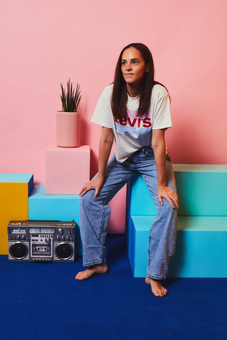 german fashion blogger levi's 90's big baggy jeans