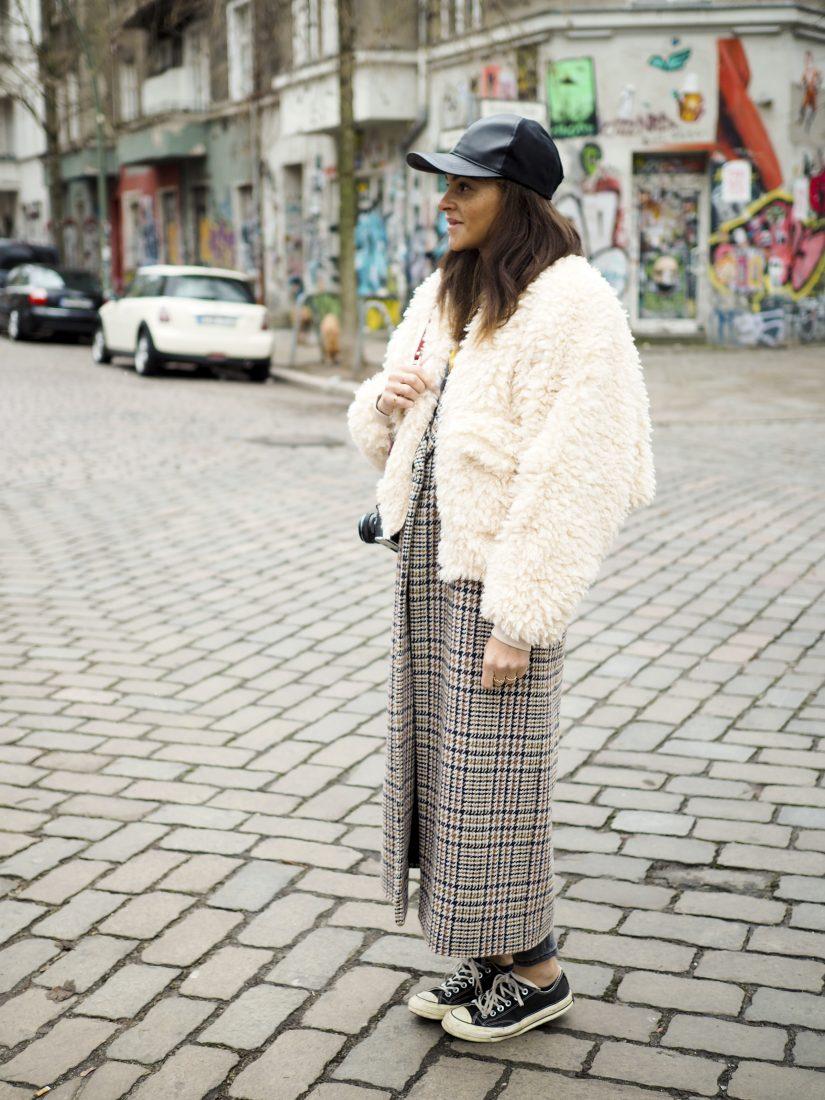 Berlin fashion blogger double coat layering