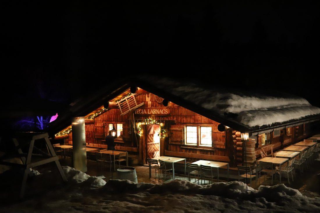 restaurant LAAX