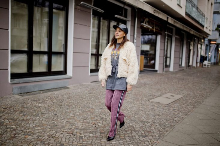 german fashion blogger glitter pants