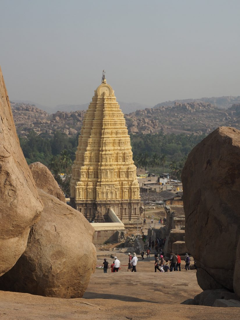 The golden chariot itinerary Karnataka Hampi-min