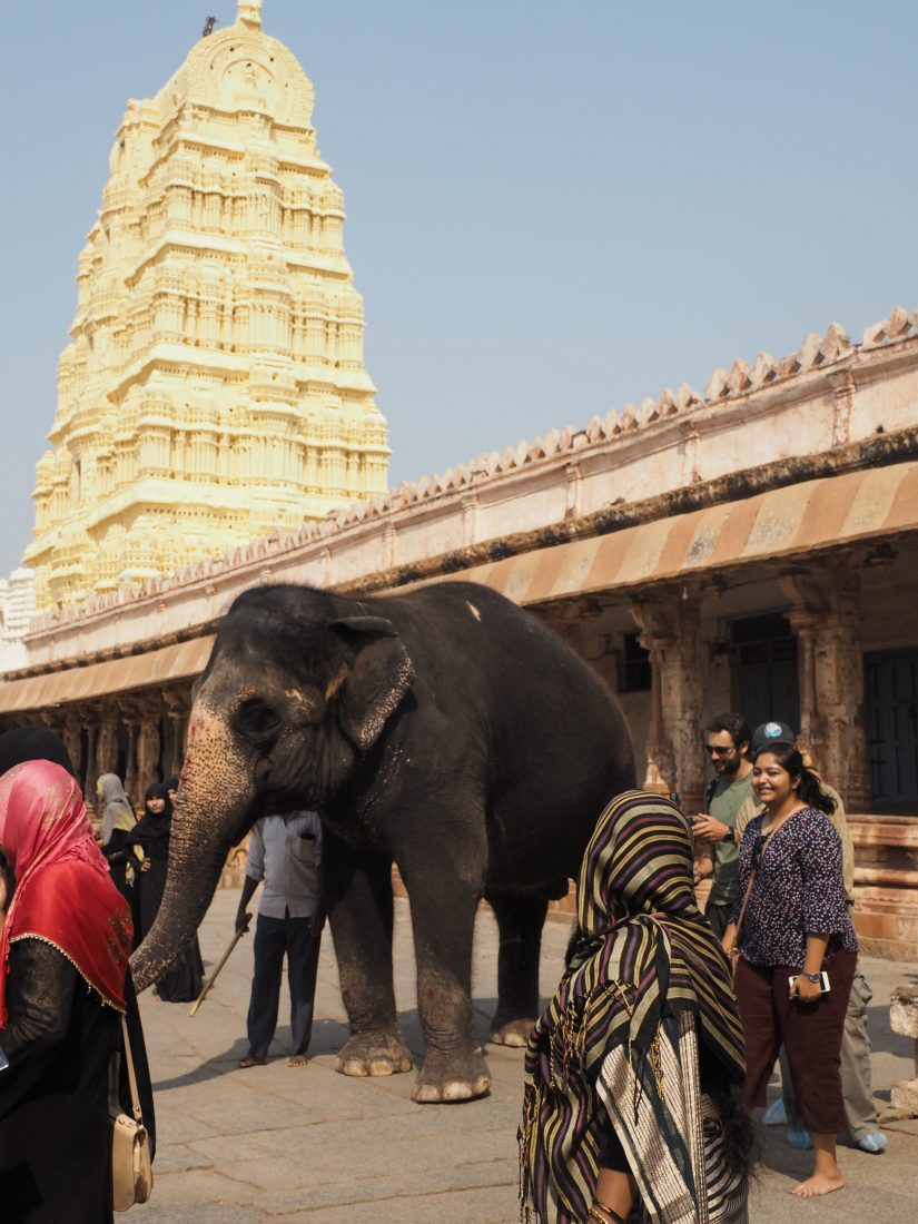 The golden chariot itinerary Karnataka elephant temple-min