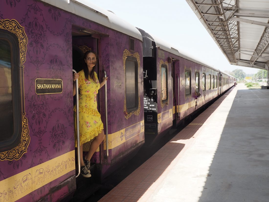 The Golden Chariot – The only luxury train in South India, going from Bengalore to Goa by train (Pride of South)