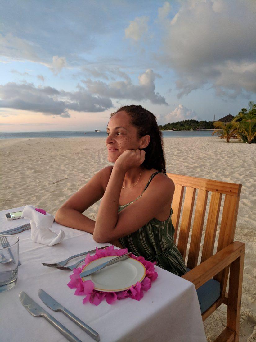 Maafushivari private dinner Maldives -min