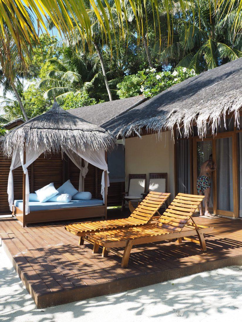 Maafushivaru beach villa