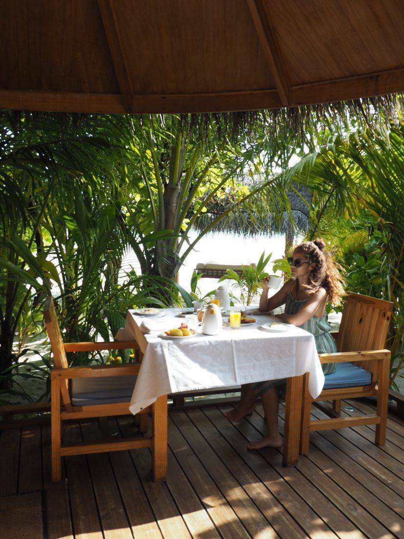 Maafushivaru breakfast Lunobo