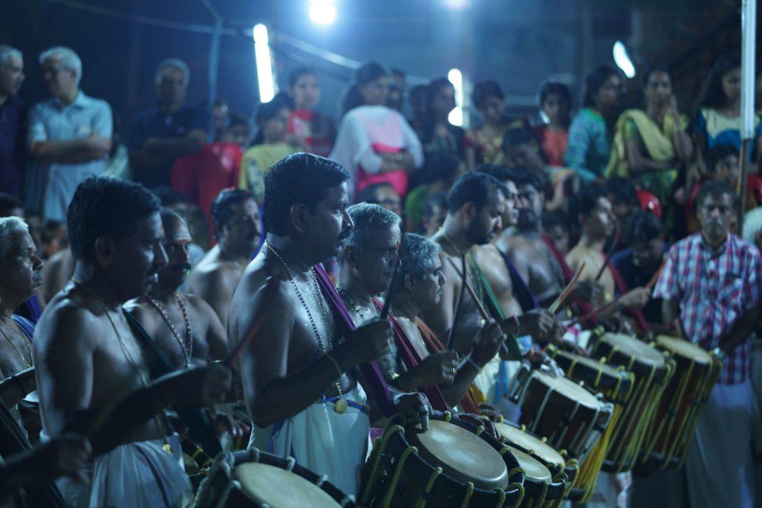Chathakudam pooram in Thrissur Kerala
