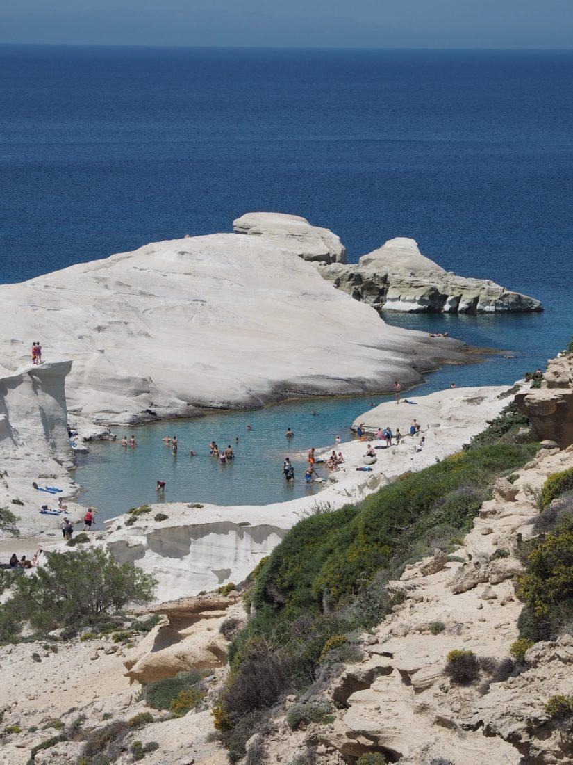 Greek island hopping with Celestyal cruise Milos 1