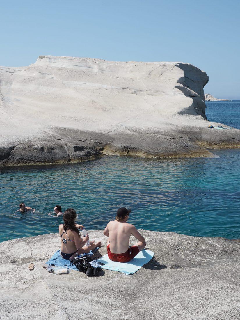 Greek island hopping with Celestyal cruise Milos 2