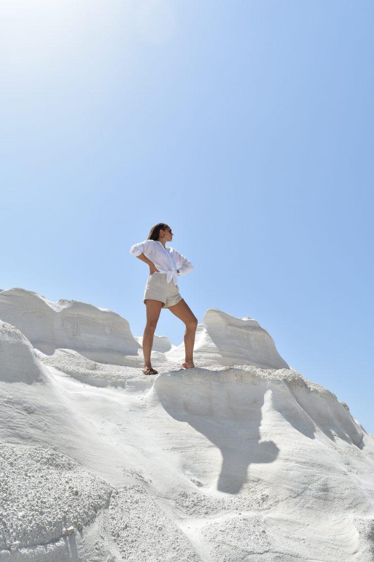Greek island hopping with Celestyal cruise Milos