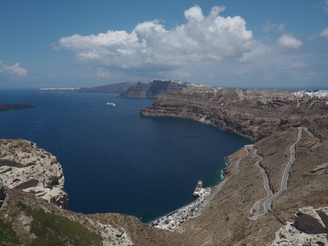 Greek island hopping with Celestyal cruise Santorini 1