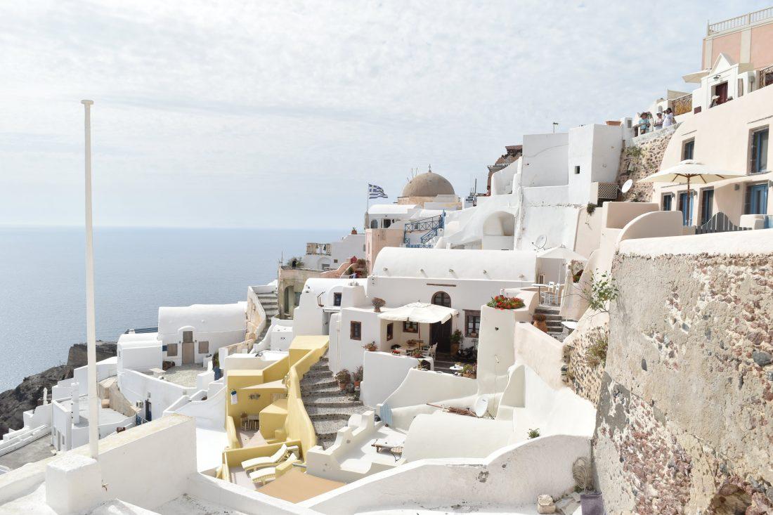 Greek island hopping with Celestyal cruise Santorini 2