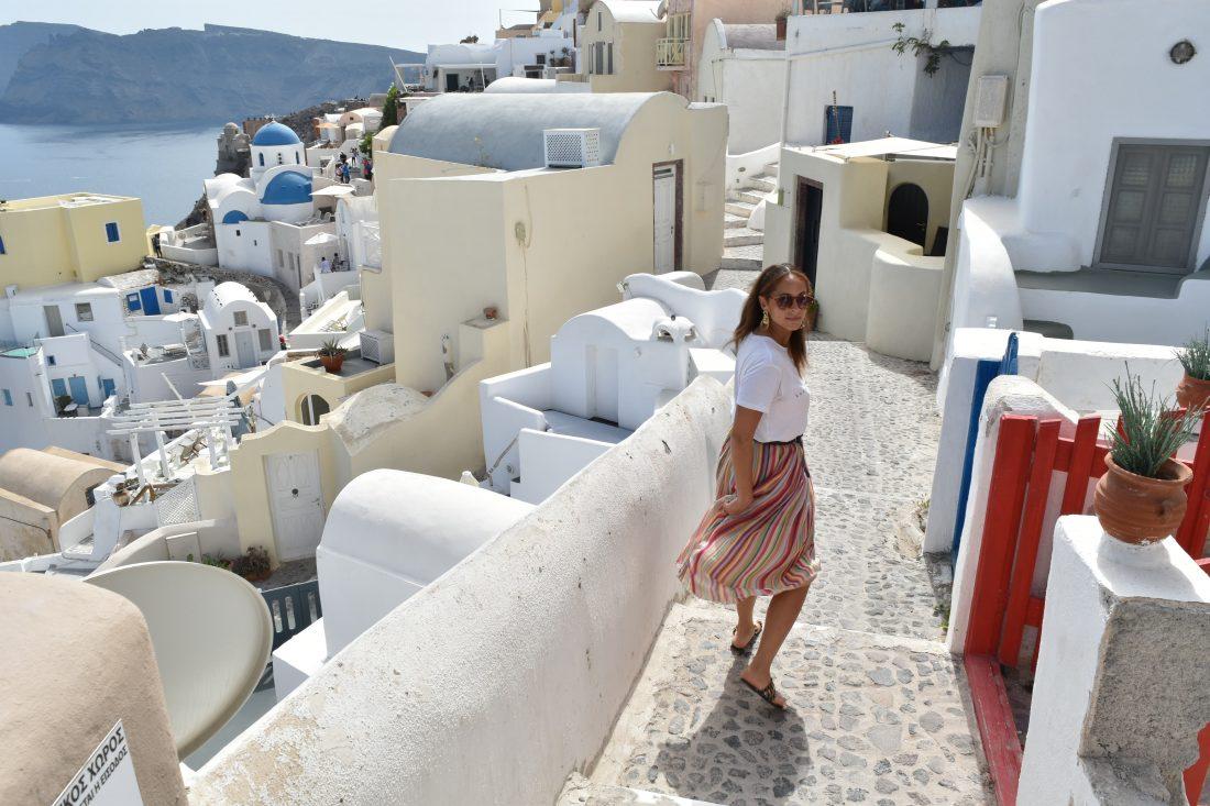 Greek island hopping with Celestyal cruise Santorini 4