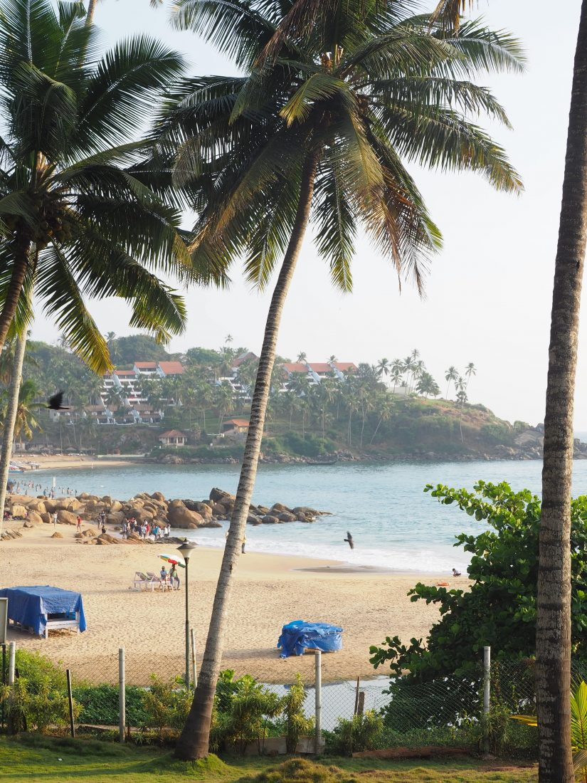 Kovalam beach Kerala India