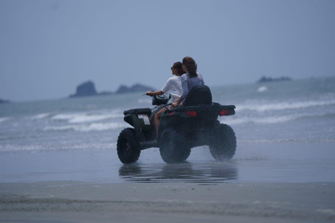 MUZHAPPILANGAD DRIVE IN BEACH IN KANNUR