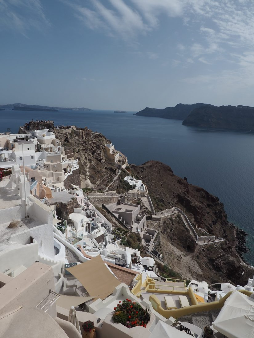 Greek island hopping itinerary with Celestyal cruise Cyclades island hopping 2 days in Santorini