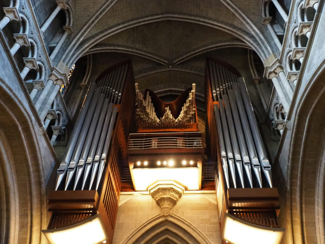 A Lausanne guide - One of the most beautiful cities in Switzerland cathedral organ