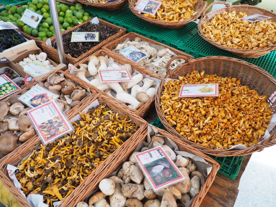 A Lausanne guide - One of the most beautiful cities in Switzerland farmers market