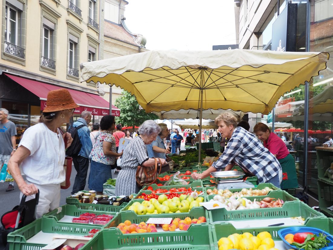 A Lausanne guide - One of the most beautiful cities in Switzerland farmers market 2