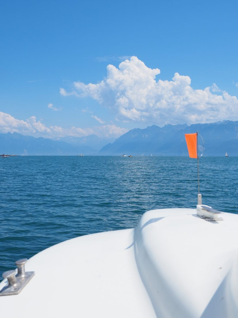What to do in Lausanne - One of the most beautiful cities in Switzerland lake geneva boat ride