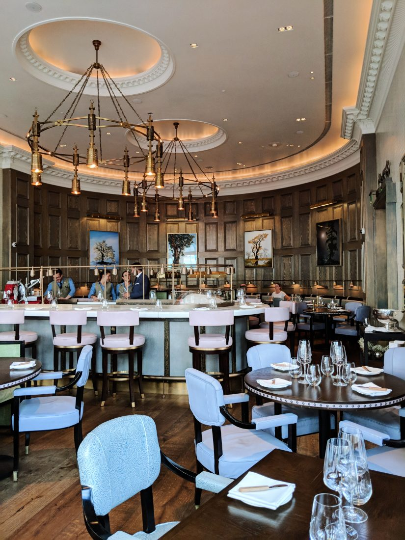 Lunch at Roux at Landau - Review of the Langham restaurant in London 4