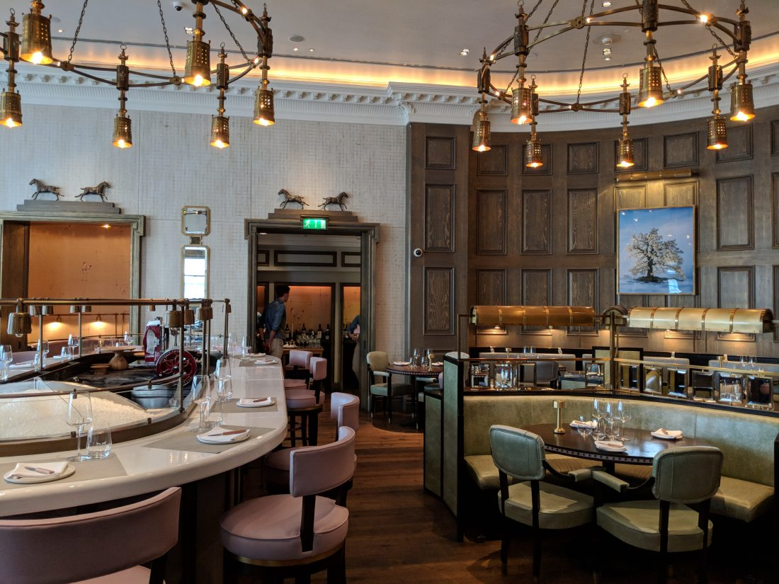 Lunch at Roux at Landau - Review of the Langham restaurant in London 8