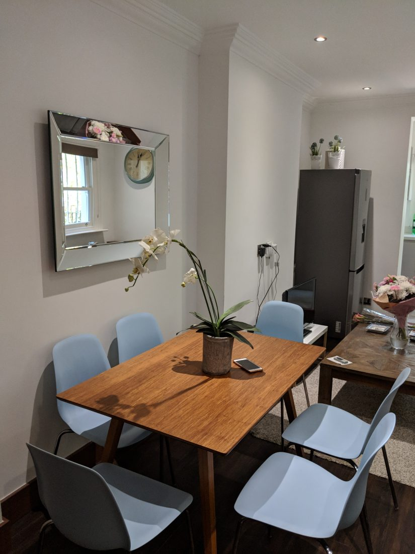Our South Kensington apartment for our short stay in London 1