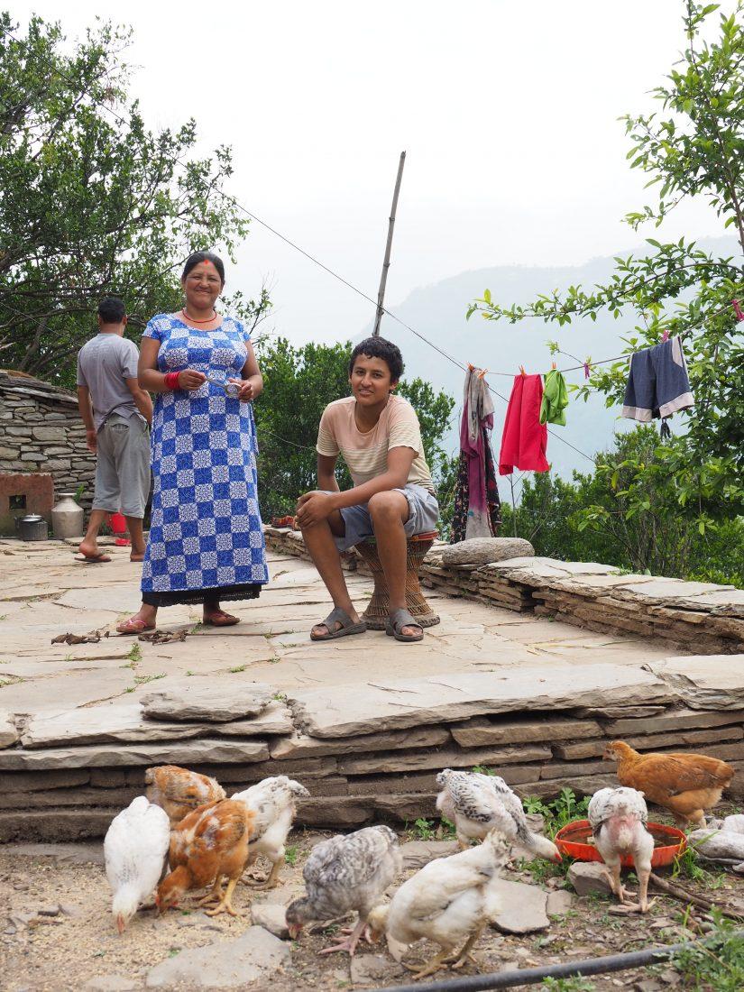 Short trek in Nepal - Mohare Donda trek 12