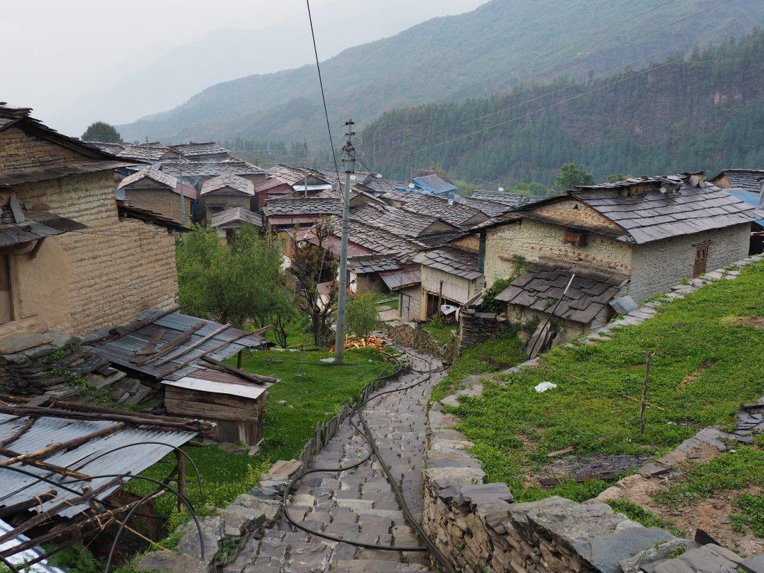 Short trek in Nepal - Mohare Donda trek Tikot vilage 1