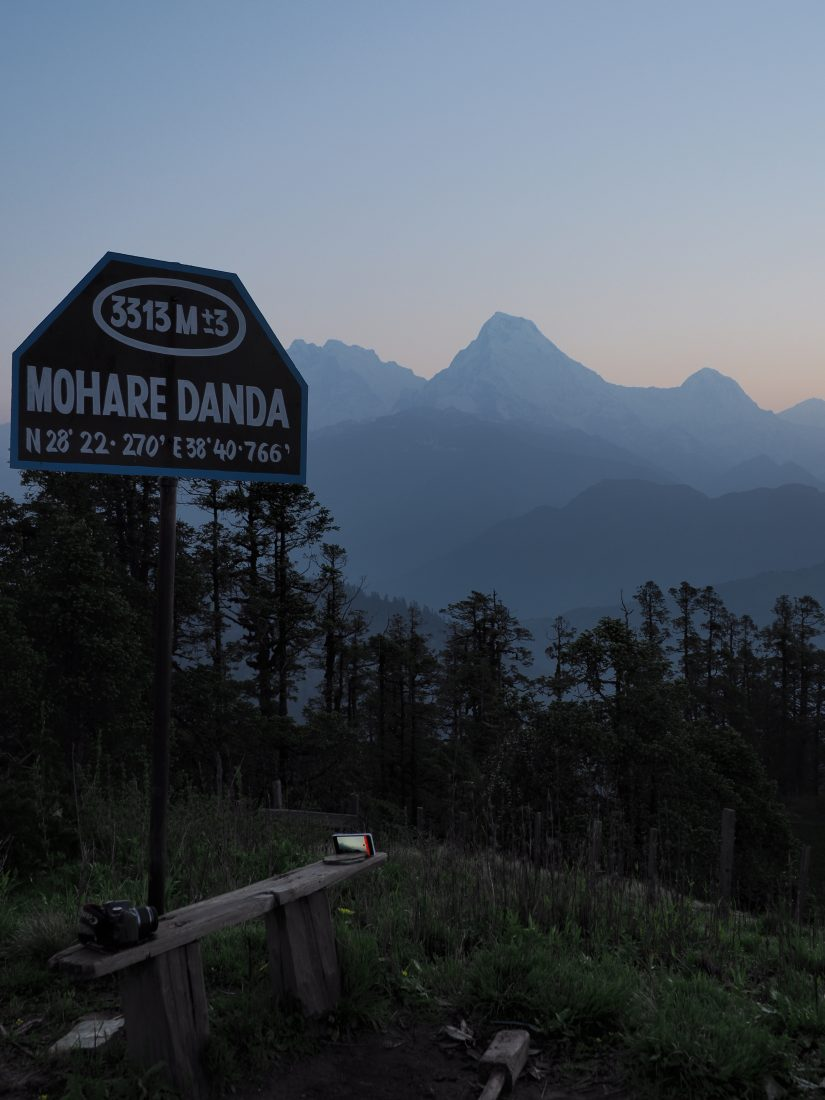 Short trek in Nepal – Mohare Donda trek : scenic views of the Annapurnas