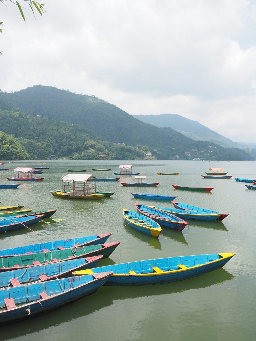 Short trek in Nepal - Mohare Donda trek phewa lake pokhara 2