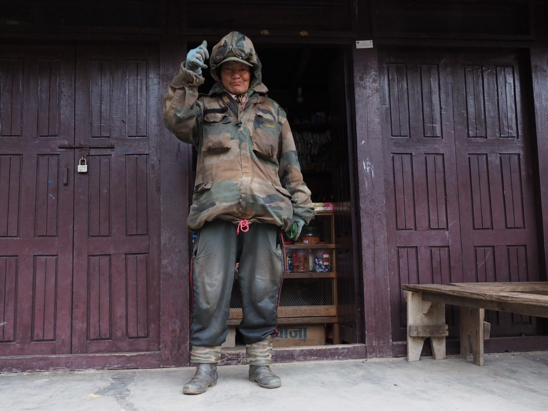 Short trek in Nepal - Mohare Donda trek tikot village 6