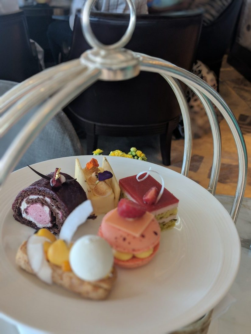 Ting afternoon tea at Shangri La