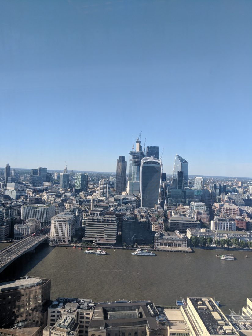 the best London view from the Shard 1