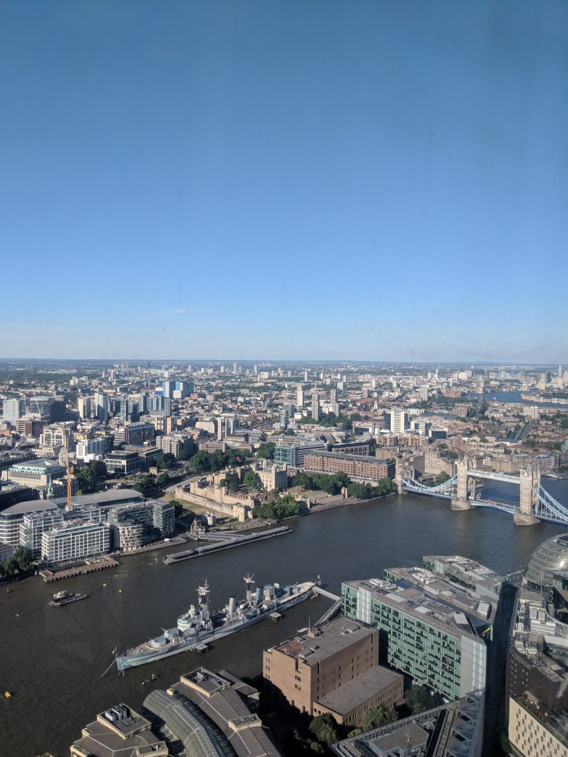 the best London view from the Shard