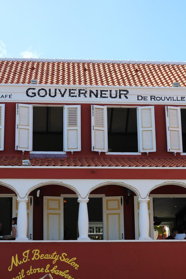 Curacao travel guide restaurant gouverneur