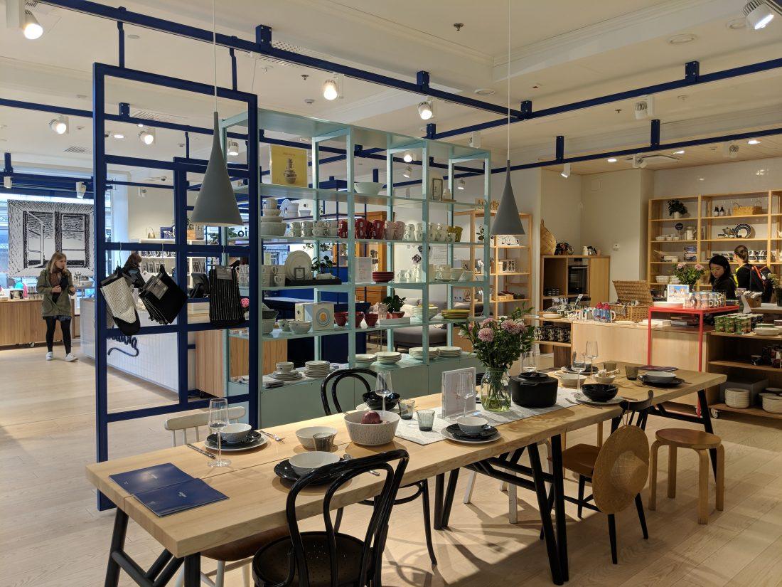 Layover in Helsinki Design shop